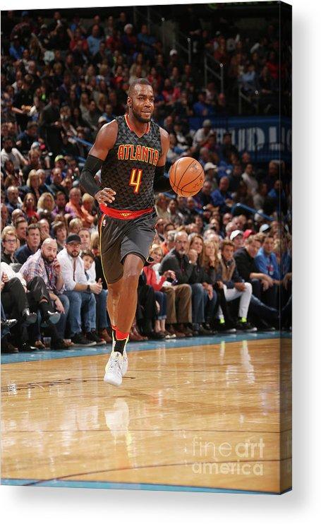 Nba Pro Basketball Acrylic Print featuring the photograph Paul Millsap by Layne Murdoch