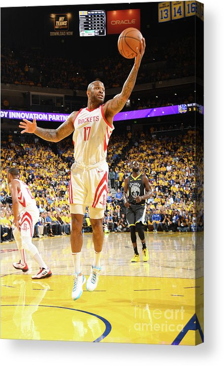 Playoffs Acrylic Print featuring the photograph P.j. Tucker by Andrew D. Bernstein