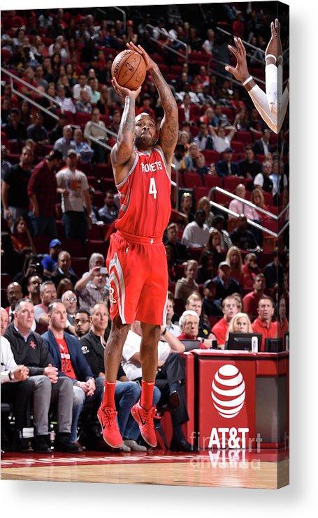Nba Pro Basketball Acrylic Print featuring the photograph P.j. Tucker by Bill Baptist
