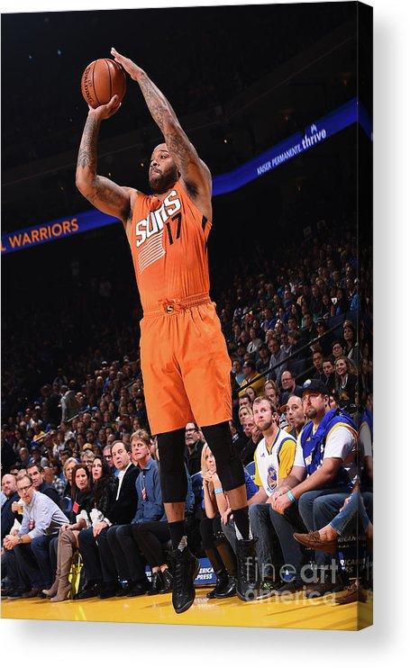 Nba Pro Basketball Acrylic Print featuring the photograph P.j. Tucker by Noah Graham