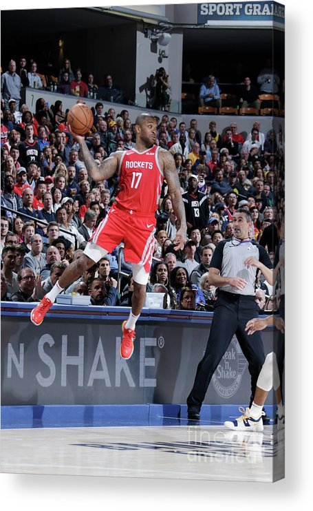 Nba Pro Basketball Acrylic Print featuring the photograph P.j. Tucker by Ron Hoskins
