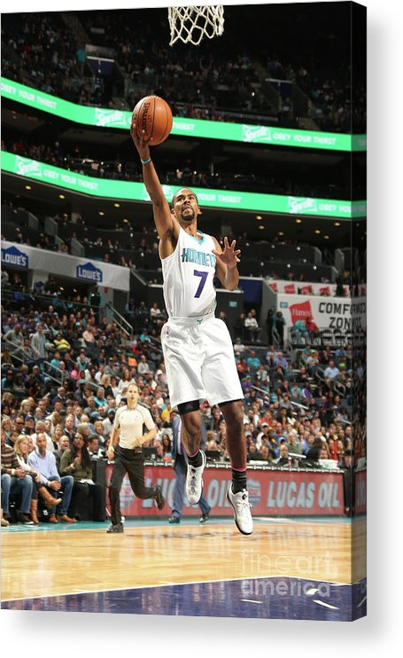 Nba Pro Basketball Acrylic Print featuring the photograph Ramon Sessions by Kent Smith