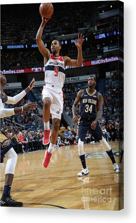 Smoothie King Center Acrylic Print featuring the photograph Ramon Sessions by Layne Murdoch Jr.