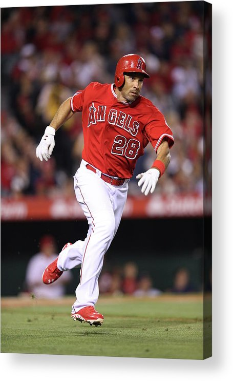 American League Baseball Acrylic Print featuring the photograph Raul Ibanez by Paul Spinelli