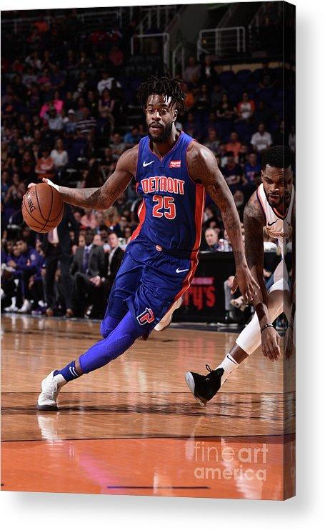 Nba Pro Basketball Acrylic Print featuring the photograph Reggie Bullock by Michael Gonzales