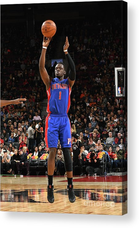 Nba Pro Basketball Acrylic Print featuring the photograph Reggie Jackson by Ron Turenne