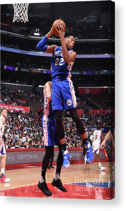 Nba Pro Basketball Acrylic Print featuring the photograph Richaun Holmes by Andrew D. Bernstein