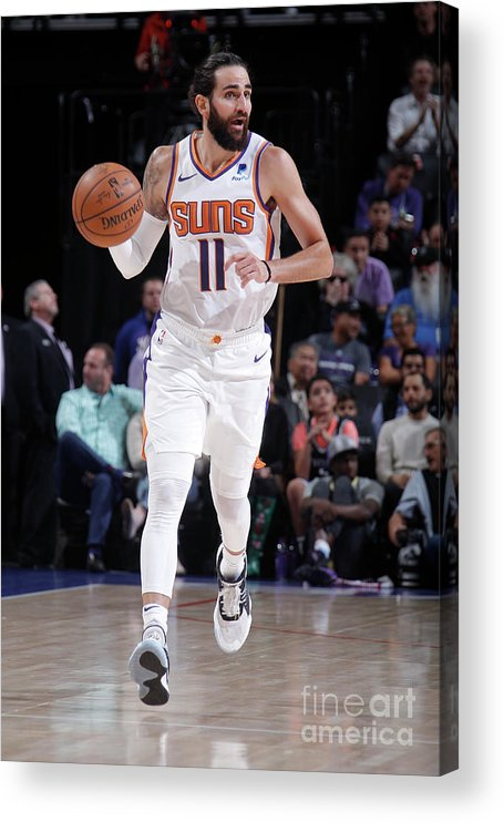 Nba Pro Basketball Acrylic Print featuring the photograph Ricky Rubio by Rocky Widner