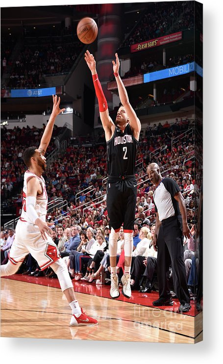 Nba Pro Basketball Acrylic Print featuring the photograph R.j. Hunter by Bill Baptist