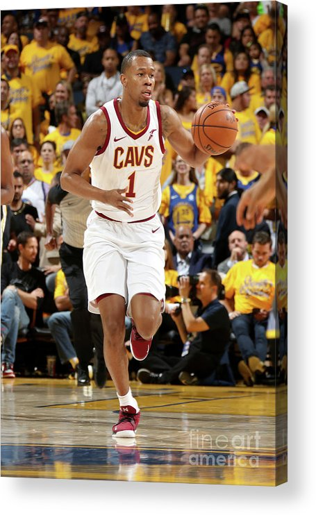 Playoffs Acrylic Print featuring the photograph Rodney Hood by Nathaniel S. Butler