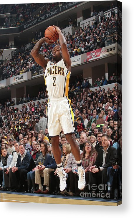 Nba Pro Basketball Acrylic Print featuring the photograph Rodney Stuckey by Ron Hoskins