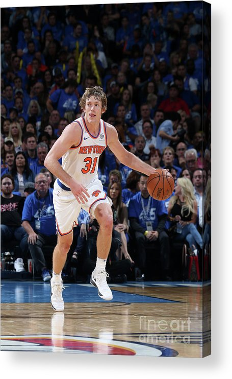 Nba Pro Basketball Acrylic Print featuring the photograph Ron Baker by Layne Murdoch