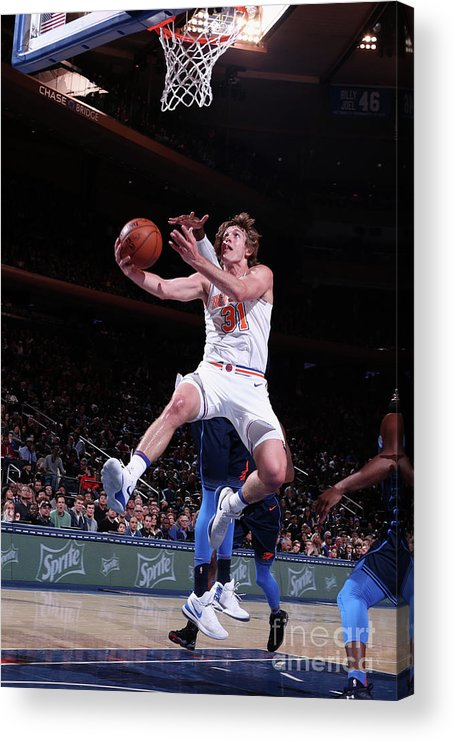 Nba Pro Basketball Acrylic Print featuring the photograph Ron Baker by Nathaniel S. Butler