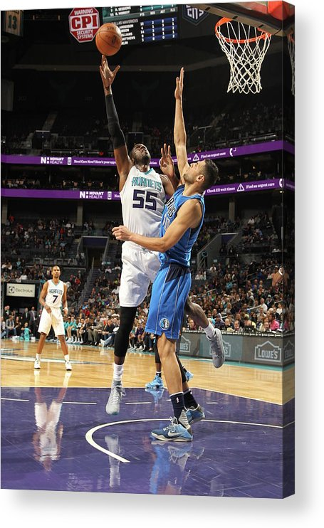 Nba Pro Basketball Acrylic Print featuring the photograph Roy Hibbert by Brock Williams-smith