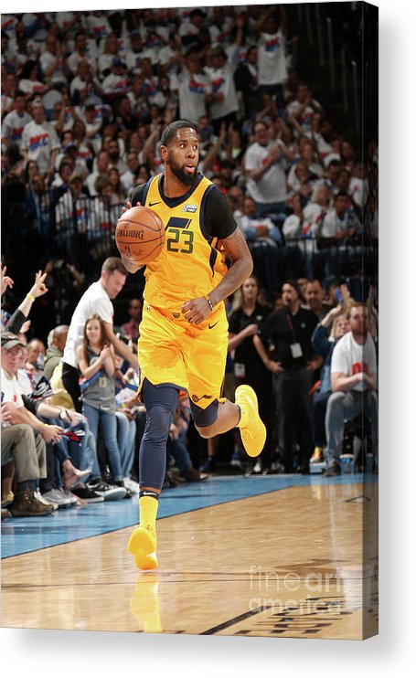 Playoffs Acrylic Print featuring the photograph Royce O'neale by Layne Murdoch