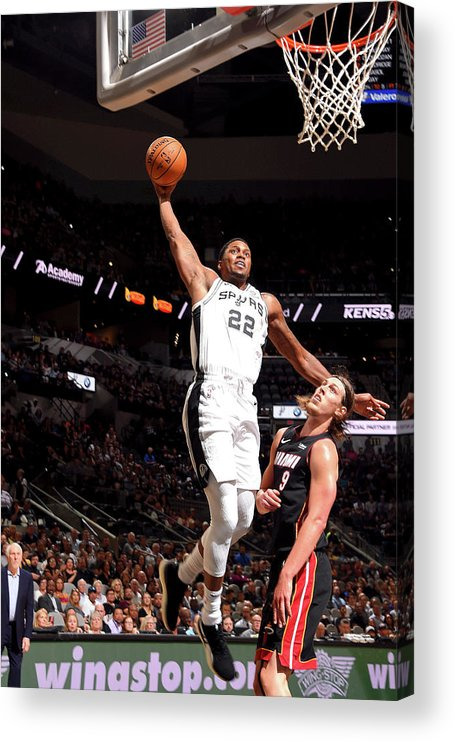 Nba Pro Basketball Acrylic Print featuring the photograph Rudy Gay by Bill Baptist
