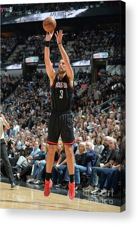 Nba Pro Basketball Acrylic Print featuring the photograph Ryan Anderson by Mark Sobhani