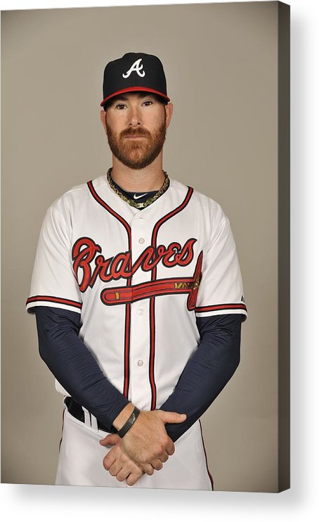 Media Day Acrylic Print featuring the photograph Ryan Doumit by Tony Firriolo