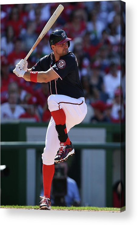 People Acrylic Print featuring the photograph Ryan Zimmerman by Patrick Smith