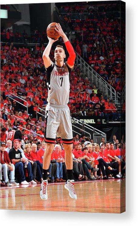 Playoffs Acrylic Print featuring the photograph Sam Dekker by Jesse D. Garrabrant