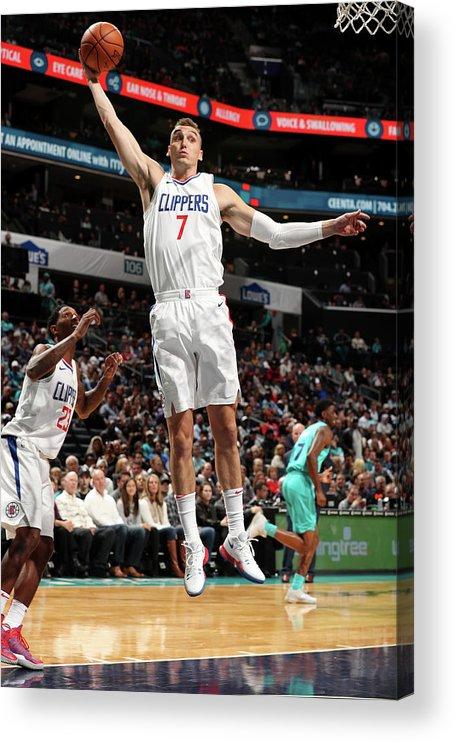 Nba Pro Basketball Acrylic Print featuring the photograph Sam Dekker by Kent Smith