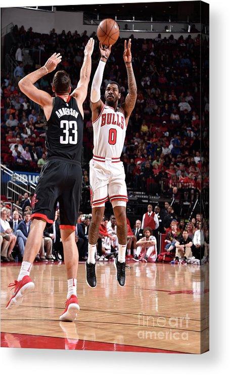 Nba Pro Basketball Acrylic Print featuring the photograph Sean Kilpatrick by Bill Baptist