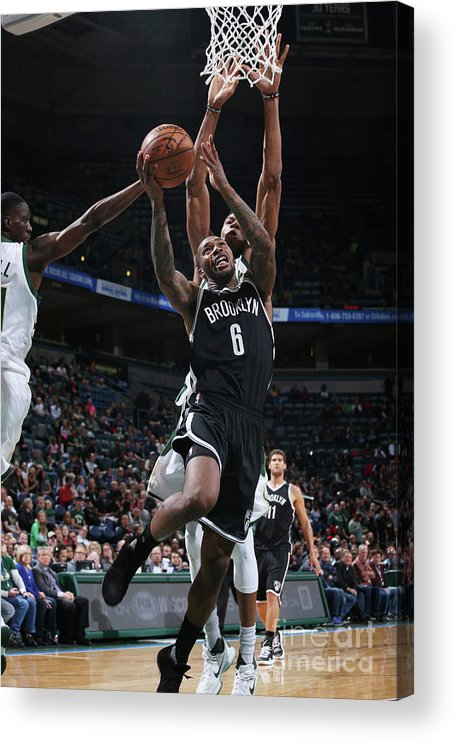 Nba Pro Basketball Acrylic Print featuring the photograph Sean Kilpatrick by Gary Dineen