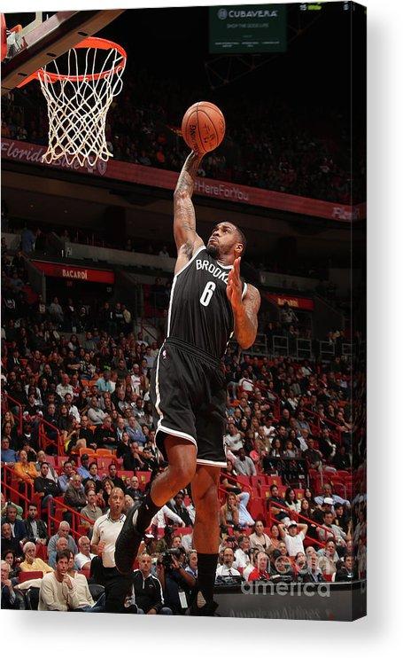 Nba Pro Basketball Acrylic Print featuring the photograph Sean Kilpatrick by Issac Baldizon