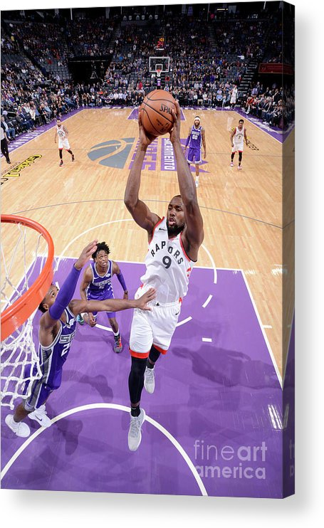 Nba Pro Basketball Acrylic Print featuring the photograph Serge Ibaka by Rocky Widner