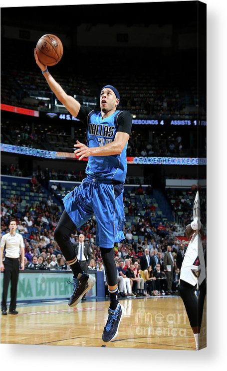 Smoothie King Center Acrylic Print featuring the photograph Seth Curry by Layne Murdoch Jr.