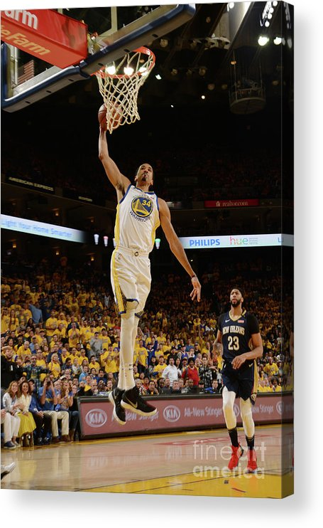 Playoffs Acrylic Print featuring the photograph Shaun Livingston by Noah Graham