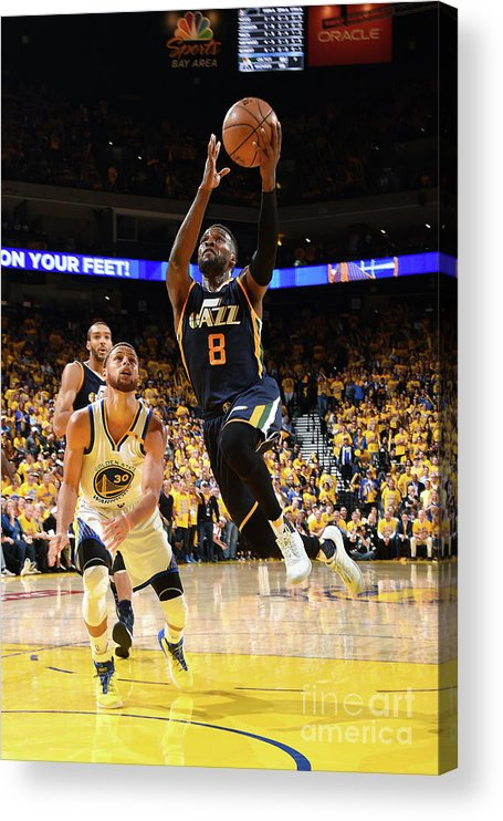 Playoffs Acrylic Print featuring the photograph Shelvin Mack by Andrew D. Bernstein