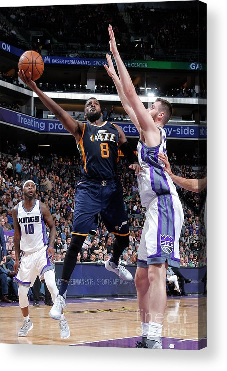 Nba Pro Basketball Acrylic Print featuring the photograph Shelvin Mack by Rocky Widner