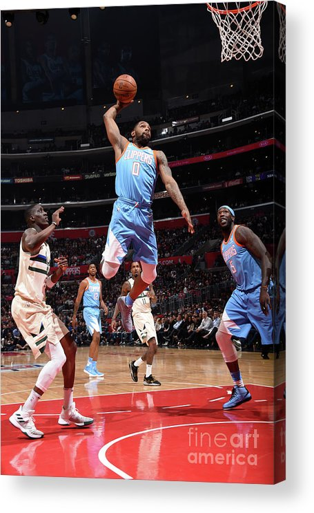 Nba Pro Basketball Acrylic Print featuring the photograph Sindarius Thornwell by Andrew D. Bernstein