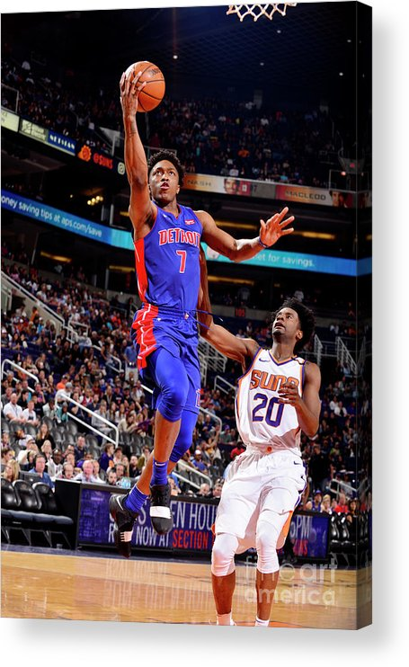 Sports Ball Acrylic Print featuring the photograph Stanley Johnson by Barry Gossage