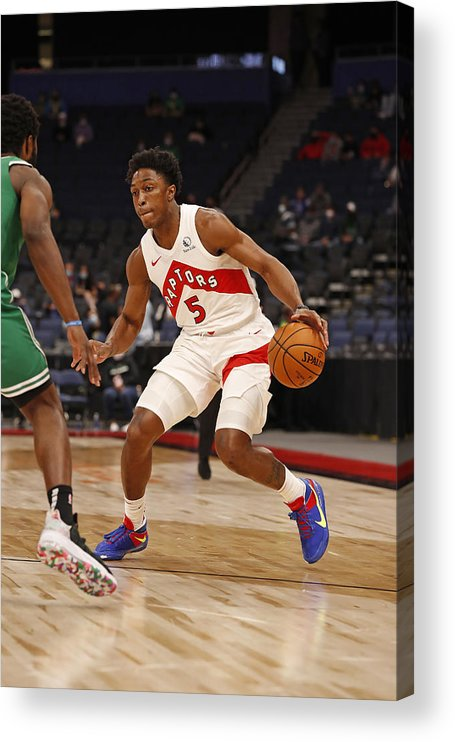 Nba Pro Basketball Acrylic Print featuring the photograph Stanley Johnson by Scott Audette