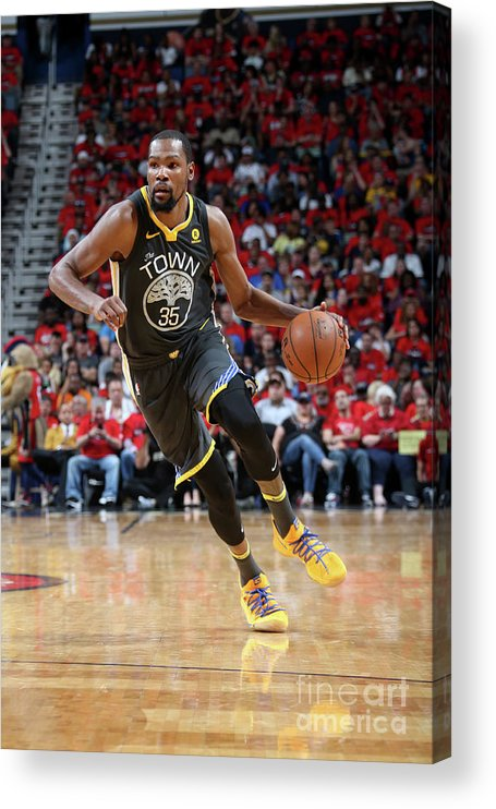 Smoothie King Center Acrylic Print featuring the photograph Stephen Curry by Layne Murdoch