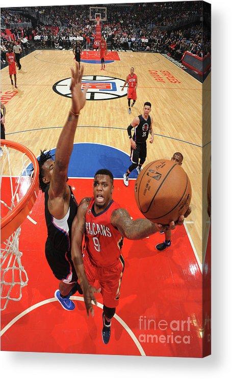 Nba Pro Basketball Acrylic Print featuring the photograph Terrence Jones by Adam Pantozzi