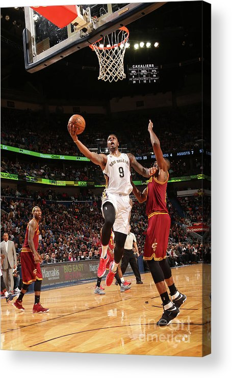 Smoothie King Center Acrylic Print featuring the photograph Terrence Jones by Layne Murdoch