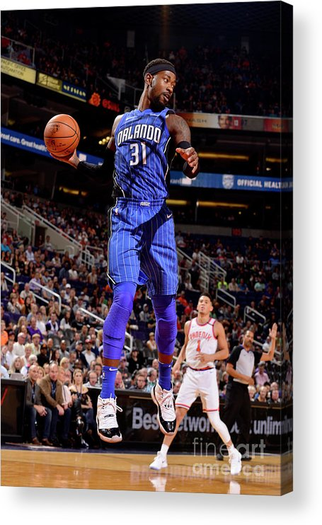 Nba Pro Basketball Acrylic Print featuring the photograph Terrence Ross by Barry Gossage