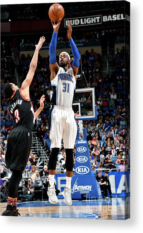 Nba Pro Basketball Acrylic Print featuring the photograph Terrence Ross by Fernando Medina