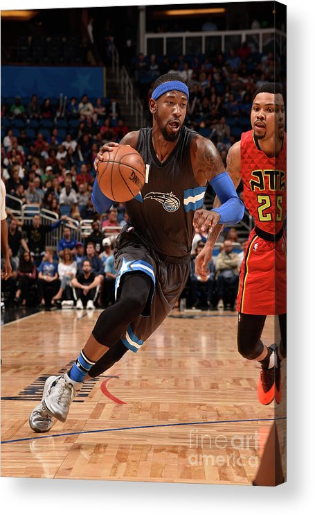 Nba Pro Basketball Acrylic Print featuring the photograph Terrence Ross by Gary Bassing