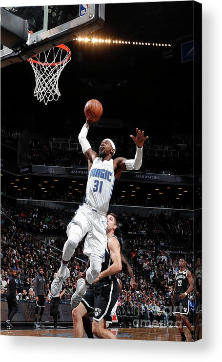 Nba Pro Basketball Acrylic Print featuring the photograph Terrence Ross by Nathaniel S. Butler