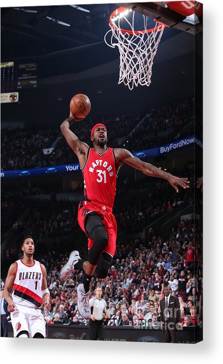 Nba Pro Basketball Acrylic Print featuring the photograph Terrence Ross by Sam Forencich