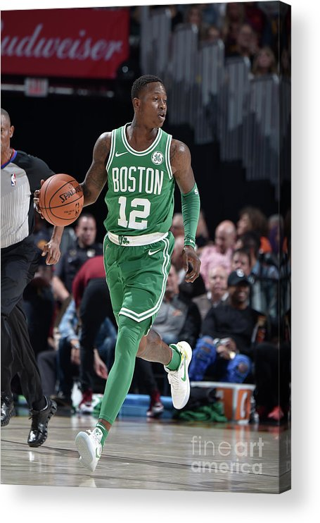 Nba Pro Basketball Acrylic Print featuring the photograph Terry Rozier by David Liam Kyle