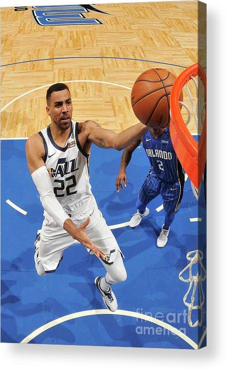Nba Pro Basketball Acrylic Print featuring the photograph Thabo Sefolosha by Fernando Medina