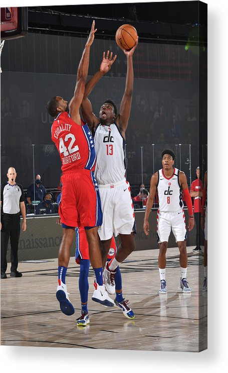 Nba Pro Basketball Acrylic Print featuring the photograph Thomas Bryant by Jesse D. Garrabrant