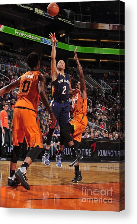 Nba Pro Basketball Acrylic Print featuring the photograph Tim Frazier by Barry Gossage
