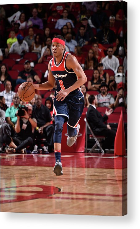 Nba Pro Basketball Acrylic Print featuring the photograph Tim Frazier by Bill Baptist