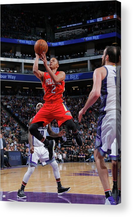 Nba Pro Basketball Acrylic Print featuring the photograph Tim Frazier by Rocky Widner